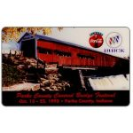 The Phonecard Shop: HT Technologies - Parke County Covered Bridge Fest, 10 units