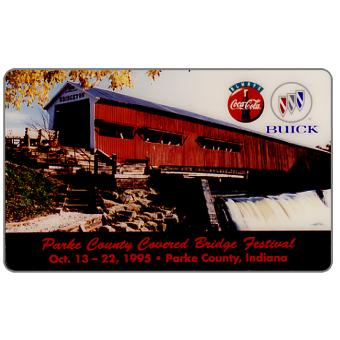 Phonecard for sale: HT Technologies - Parke County Covered Bridge Fest, 10 units
