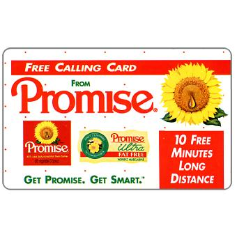 Innovative Telecommunications - Promise Margarine, complimentary 10 minutes