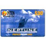 The Phonecard Shop: U.S.A., Inten Communications - Neptune, $20