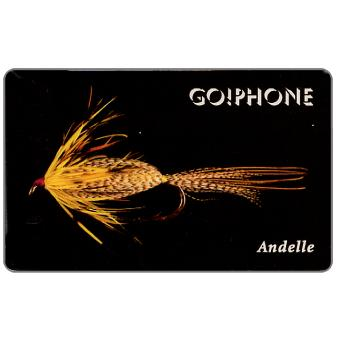Phonecard for sale: Laser Radio - Fishing Flies 2/5, Andelle, 1 unit
