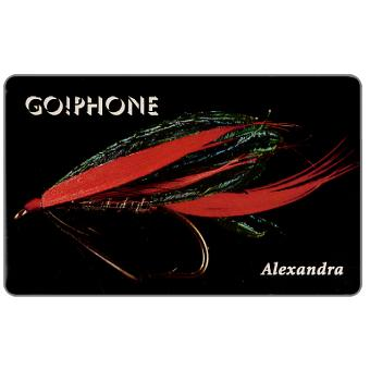 Phonecard for sale: Laser Radio - Fishing Flies 3/5, Alexandra, 1 unit