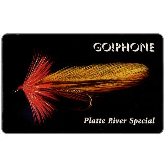 Phonecard for sale: Laser Radio - Fishing Flies 4/5, Platte River Special, 1 unit
