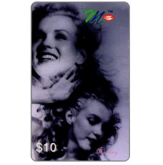 Phonecard for sale: Laser Radio - Marilyn Monroe, A week in the life, Monday, $10