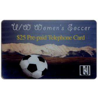 Phonecard for sale: Laser Radio - Women's Soccer, $25