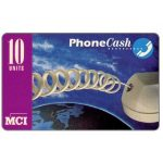 The Phonecard Shop: MCI - Phonecash, phone cord, 10 units