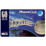 The Phonecard Shop: MCI - Phonecash, phone cord, 60 units
