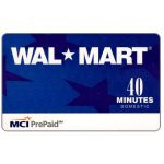 The Phonecard Shop: MCI - Wal Mart, 40 minutes