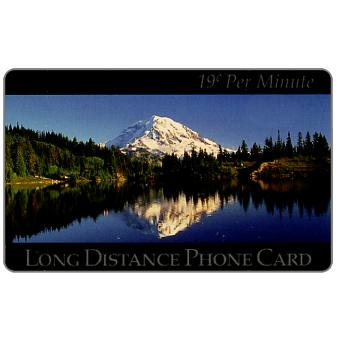 Phonecard for sale: New Media Telecommunications - Mountain Lake, 19 c. per minute