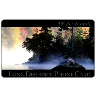 Phonecard for sale: New Media Telecommunications - River & forest, 19 c. per minute