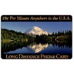 The Phonecard Shop: U.S.A., New Media Telecommunications - Mountain Lake, 19 c. per minute Anywhere in the U.S.A.
