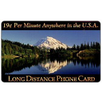 Phonecard for sale: New Media Telecommunications - Mountain Lake, 19 c. per minute Anywhere in the U.S.A.