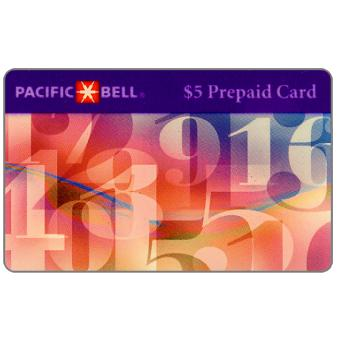 Pacific Bell - Floating numbers, $5