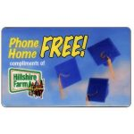 The Phonecard Shop: U.S.A., PromoTel - Phone Home Free, compliments of Hillshire Farm, 10 minutes