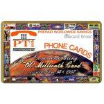 The Phonecard Shop: U.S.A., PT1 Communications - 60th Millionth Card, collectors edition
