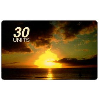 Phonecard for sale: Sun Net Telecom - Sunset, 30 units,