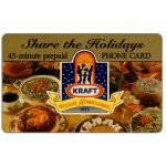 The Phonecard Shop: Sprint - Share the Holiday Kraft, 45 minutes