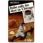 The Phonecard Shop: Sprint - Sony, Babe calls his shot in Chicago, 5 minutes