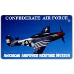 The Phonecard Shop: Teraco - Confederate Air Force - P-51, specimen, $10