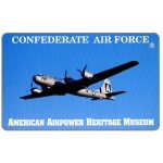 The Phonecard Shop: Teraco - Confederate Air Force - B-29, specimen, $10