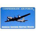 The Phonecard Shop: U.S.A., Teraco - Confederate Air Force - B-29, specimen, $10