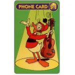 The Phonecard Shop: Disney's Fethry Duck, $1