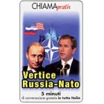The Phonecard Shop: Italy, Vertice Russia-Nato, 5 min.