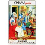 The Phonecard Shop: Italy, Personaggi n. 10 - Omero, 5 min.