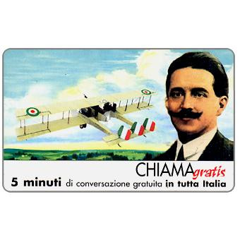 Phonecard for sale: Museo Aeronautico Gianni Caproni, 5 min.