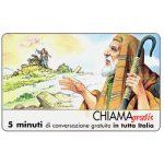 The Phonecard Shop: Italy, Personaggi n. 04 - Abramo, 5 min.