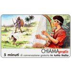 The Phonecard Shop: Italy, Personaggi n. 08 - David, 5 min.