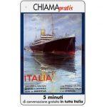 The Phonecard Shop: Italy, Manifesti Compagnie Marittime 2/12, 5 min.