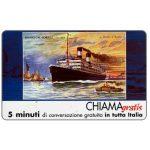 The Phonecard Shop: Italy, Manifesti Compagnie Marittime 3/12, 5 min.