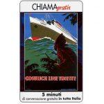 The Phonecard Shop: Italy, Manifesti Compagnie Marittime 7/12, 5 min.