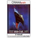 The Phonecard Shop: Italy, Manifesti Compagnie Marittime 8/12, 5 min.