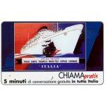 The Phonecard Shop: Italy, Manifesti Compagnie Marittime 10/12, 5 min.
