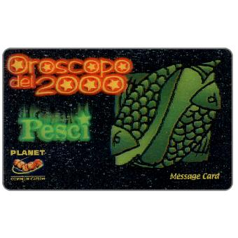 Phonecard for sale: Planet Communication - Zodiac, Pesci, 1 unit