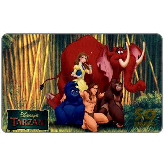 Phonecard for sale: Westel Intelcom - Disney's Tarzan, Tarzan and Friends, 50 units