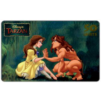 Phonecard for sale: Westel Intelcom - Disney's Tarzan, Tarzan and Jane, 50 units