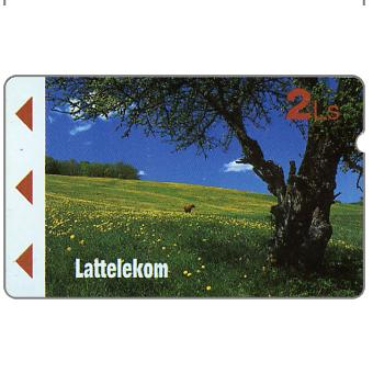 The Phonecard Shop: Latvia, First issue, countryside, 2 Ls
