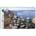 Phonecard for sale: Stones on Baltic seashore, 2 Lati