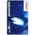 The Phonecard Shop: Liechtenstein, Shark, CHF 20