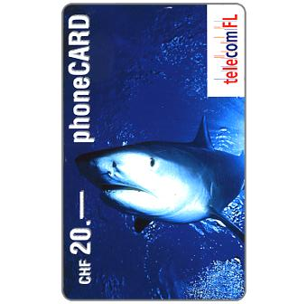 Phonecard for sale: Shark, CHF 20