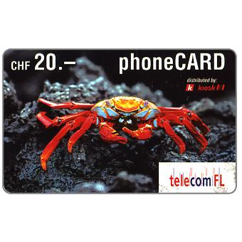 Phonecard for sale: Crab, CHF 20