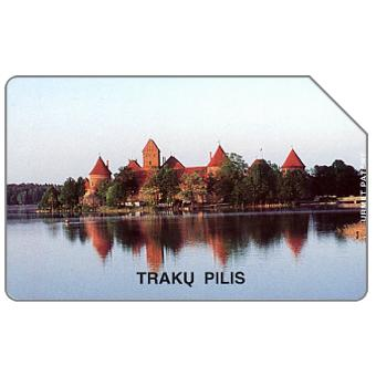 Phonecard for sale: Traku Pilis, 200 units