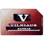 The Phonecard Shop: Lithuania, Vilniaus Bank, 25 units