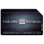 The Phonecard Shop: Lithuania, Vakaru Bankas, 50 units