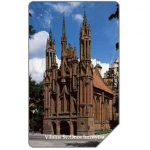 The Phonecard Shop: Lithuania, Vilnius Cathedral, 100 units