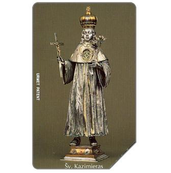 Phonecard for sale: St.Kazimieras, 100 units