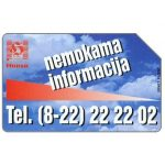 The Phonecard Shop: Lithuania, Info Hansa, 25 units